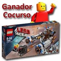"""Ganador del kit de """"La Lego Película"""""""