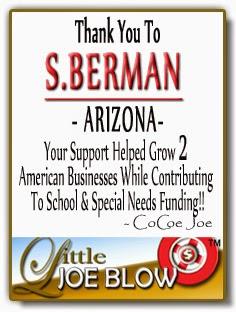 Thank You S.Berman ARIZONA from Little Joe Blow