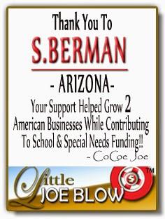 Thank You S.Berman ARIZONA from Little Joe Blow