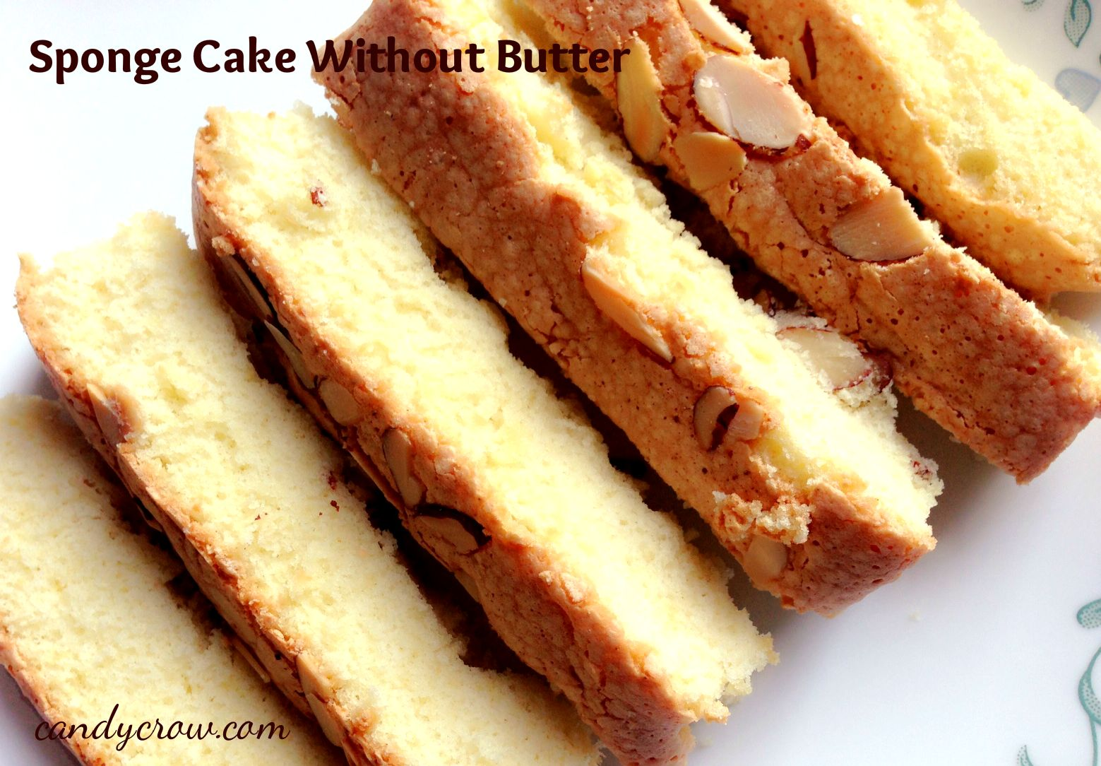 Sponge Cake Without Butter - step by step Recipe