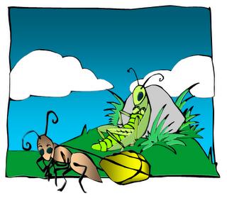 """حكايات يعسوب """"Aesop's Fables"""" ant-n-grasshopper.png"""