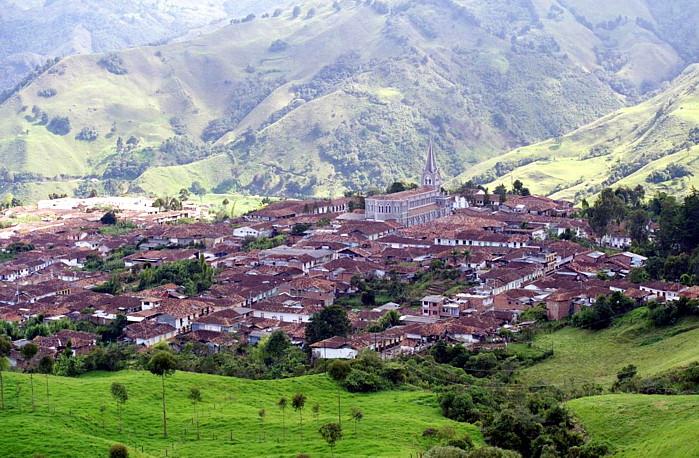 La población de Caramanta, Cuna de los Ossa Ossa
