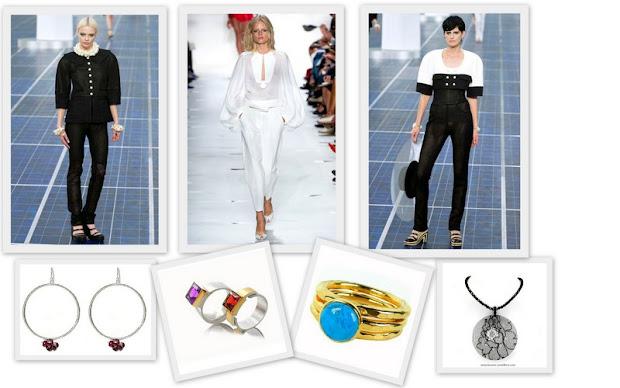 Spring 2013- Carolina Herrera/Chanel
