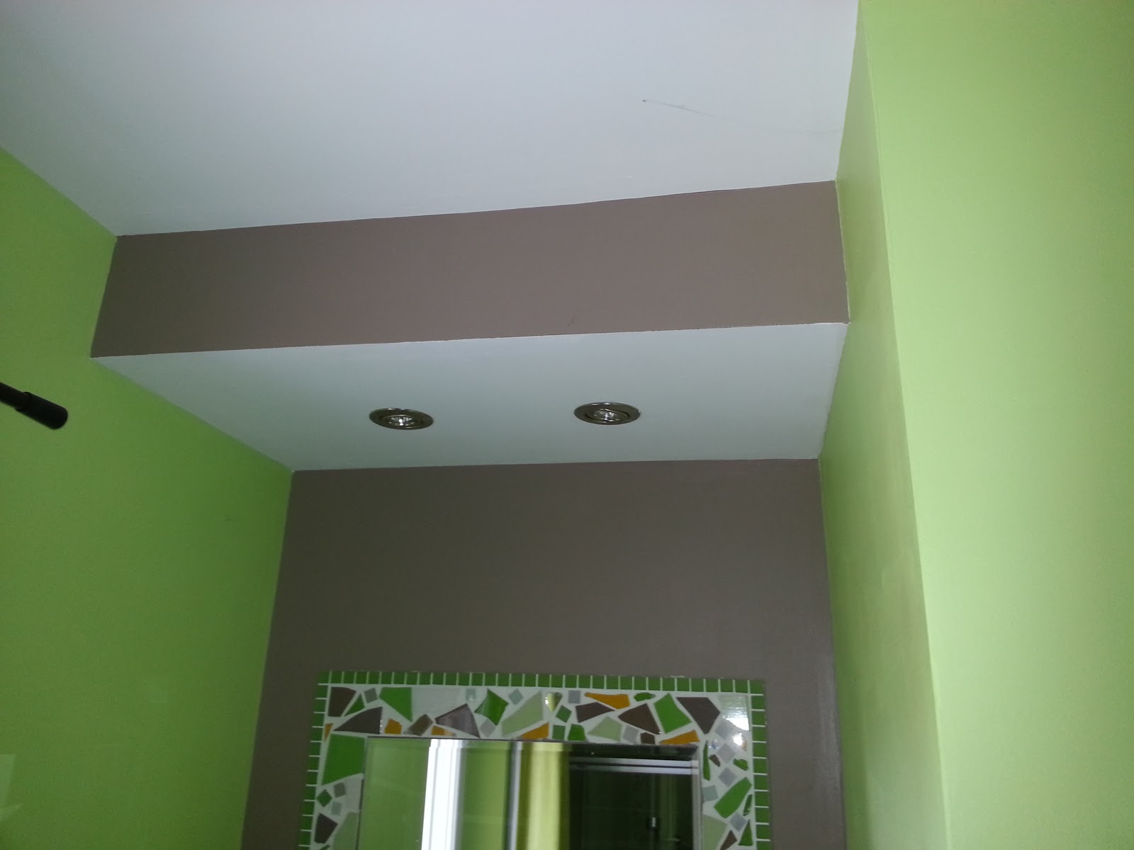 Cortade platrerie plafond for Realisation faux plafond decoratif