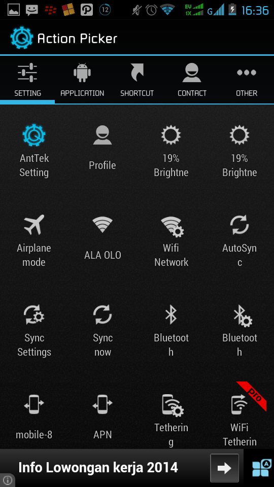 Aplikasi AntTek Quick Setting