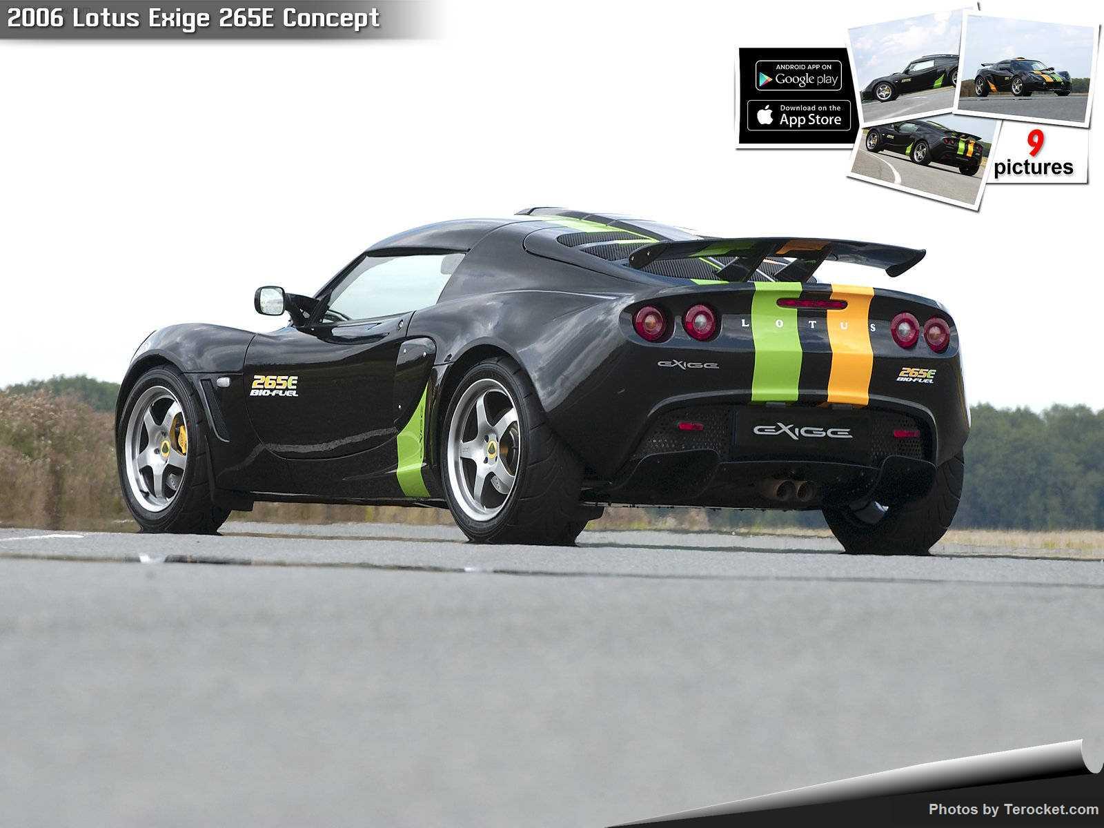Hình ảnh siêu xe Lotus Exige 265E Concept 2006 & nội ngoại thất
