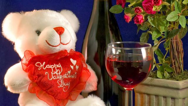 Osito de Peluche Happy Valentines Day
