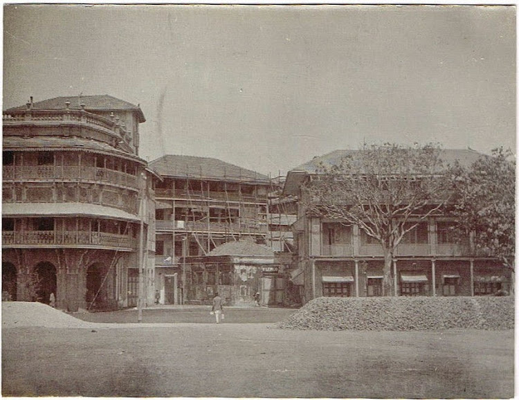 New Buildings in Bombay (Mumbai) c1905-10
