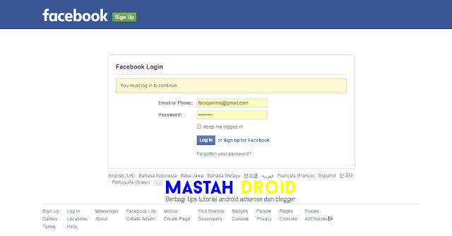 Cara Mengahapus Akun Facebook Permanen