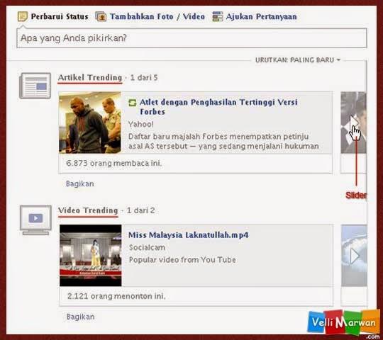Fitur Yahoo News Slider