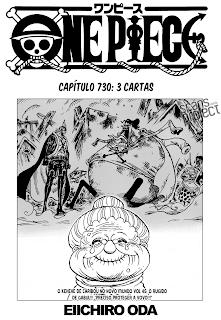 One Piece 730 Português Mangá leitura online
