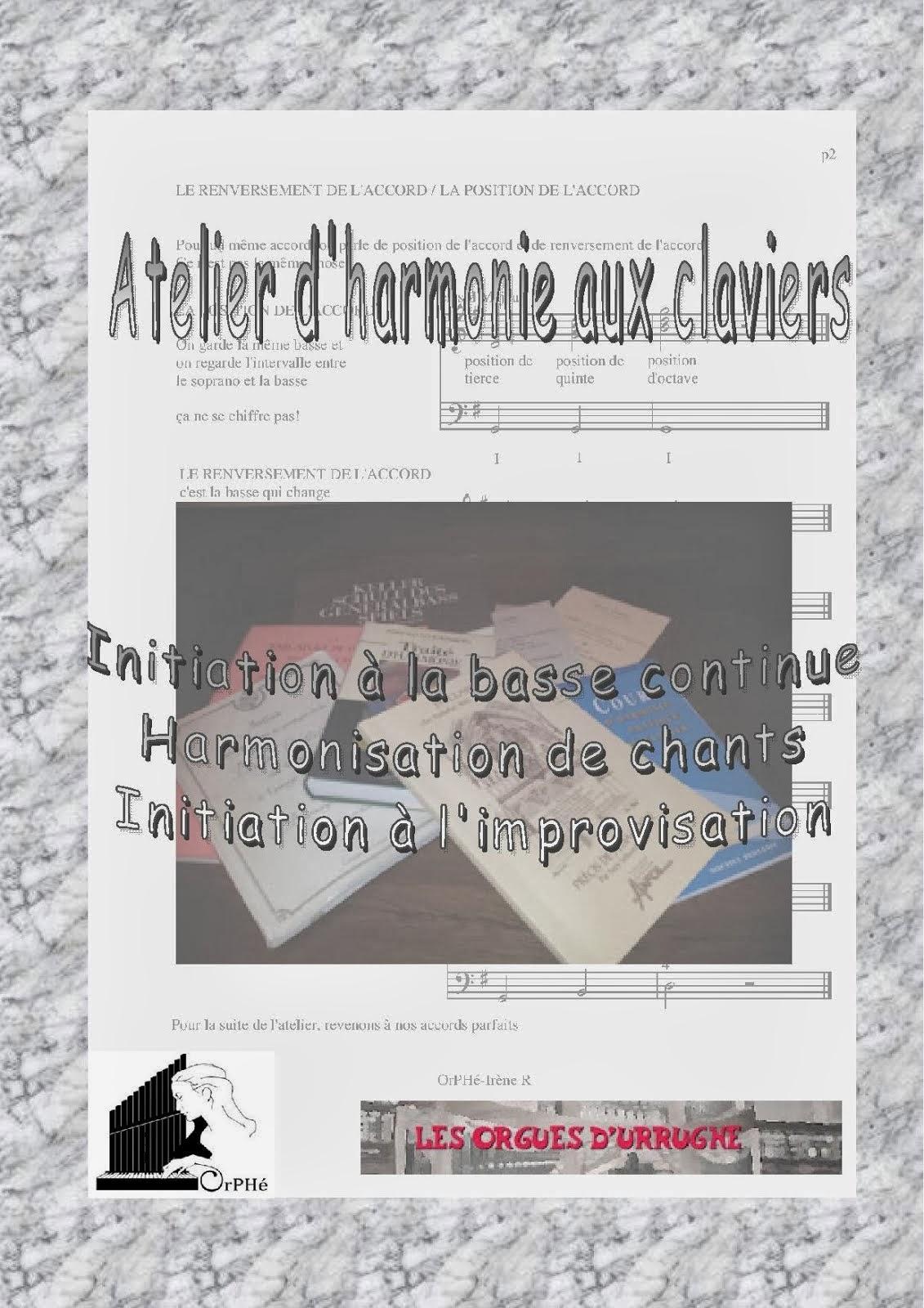 Harmonie aux claviers