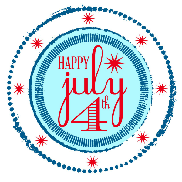 Happy July 4th Printable
