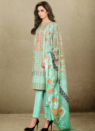 Latest lawn dresses 2015