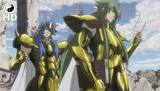Saint Seiya:The Lost Canvas 24 e 25 - Portugus