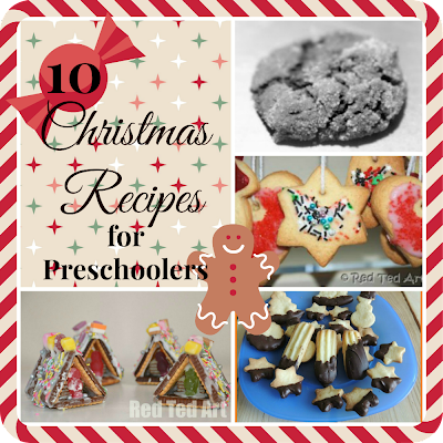 10 christmas recipes for preschoolers - cooking with kids