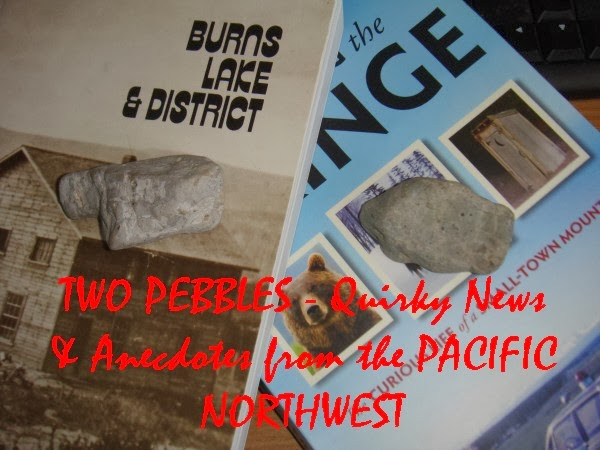 Two Pebbles - Quirky News & Anecdotes from the Pacific Northwest