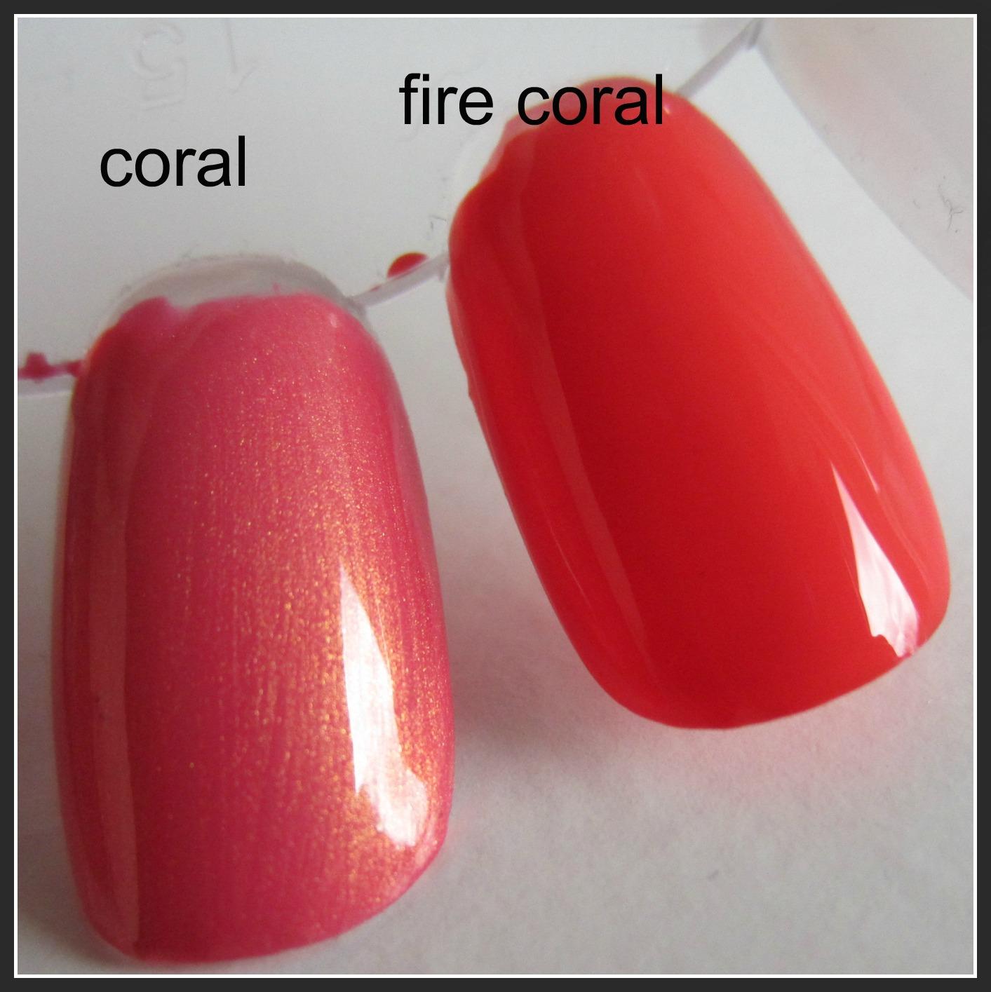 Farbe Coral zauberschwalbe bloggt e l f nagellacke