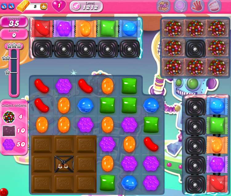 Candy Crush Saga 1212