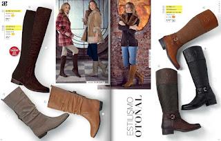 Catalogo Andrea zapatos cerrado otoño invierno 2015