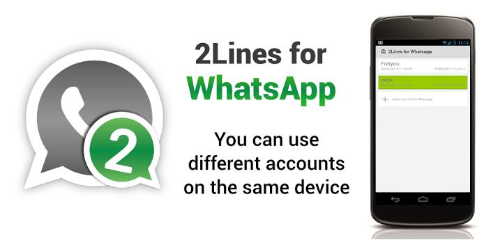 run two whatsapp accounts same mobile phone