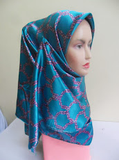 NEW CUSTOMADE COLLECTION : TUDUNG BAWAL SATIN PRINTED.