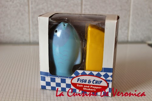 La Cuisine De Veronica Salt and Pepper Shakers