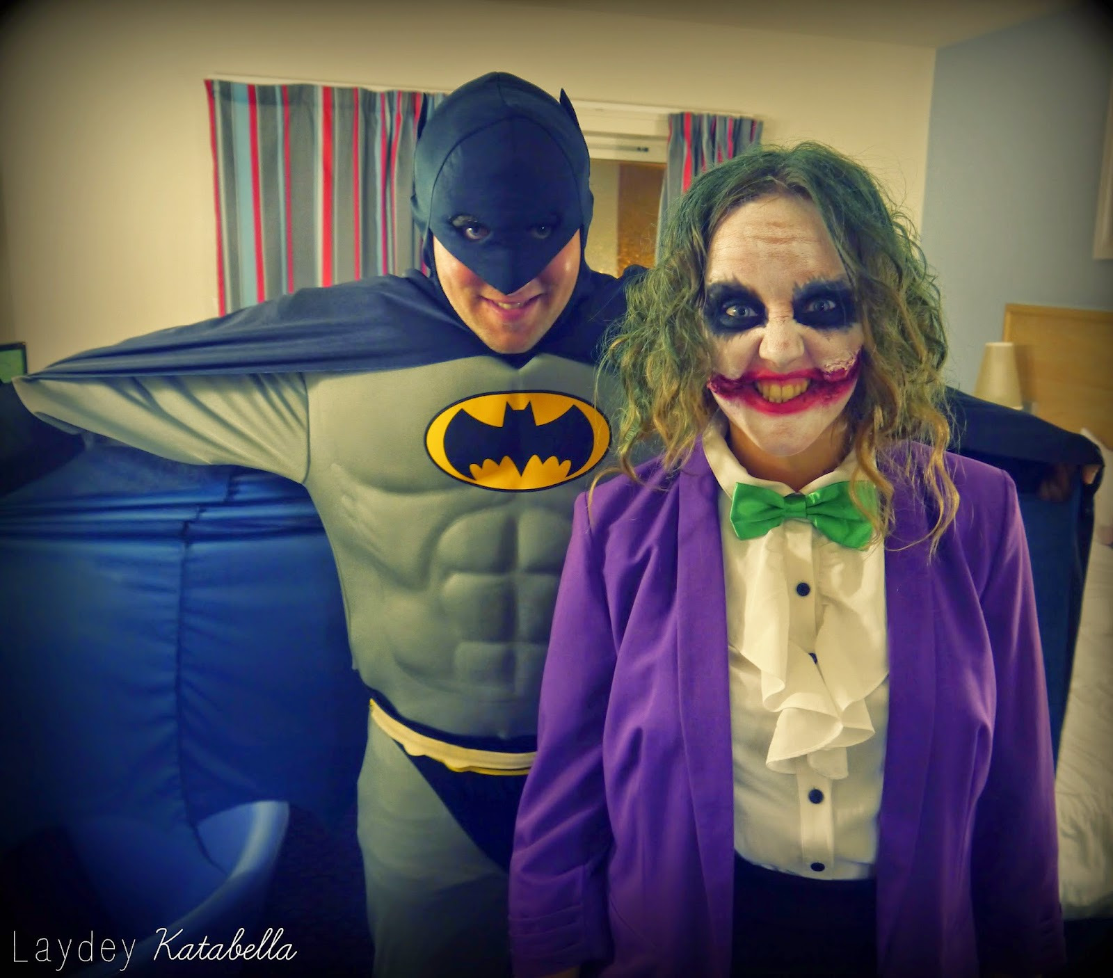 batman and the joker fancy dress