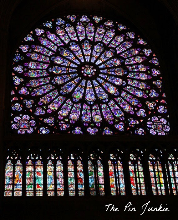 Notre Dame Cathedral Stained glass windows
