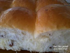 Roti Manis Berkismis
