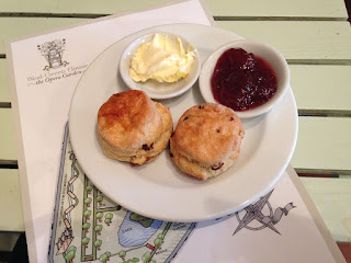 West Green House scone