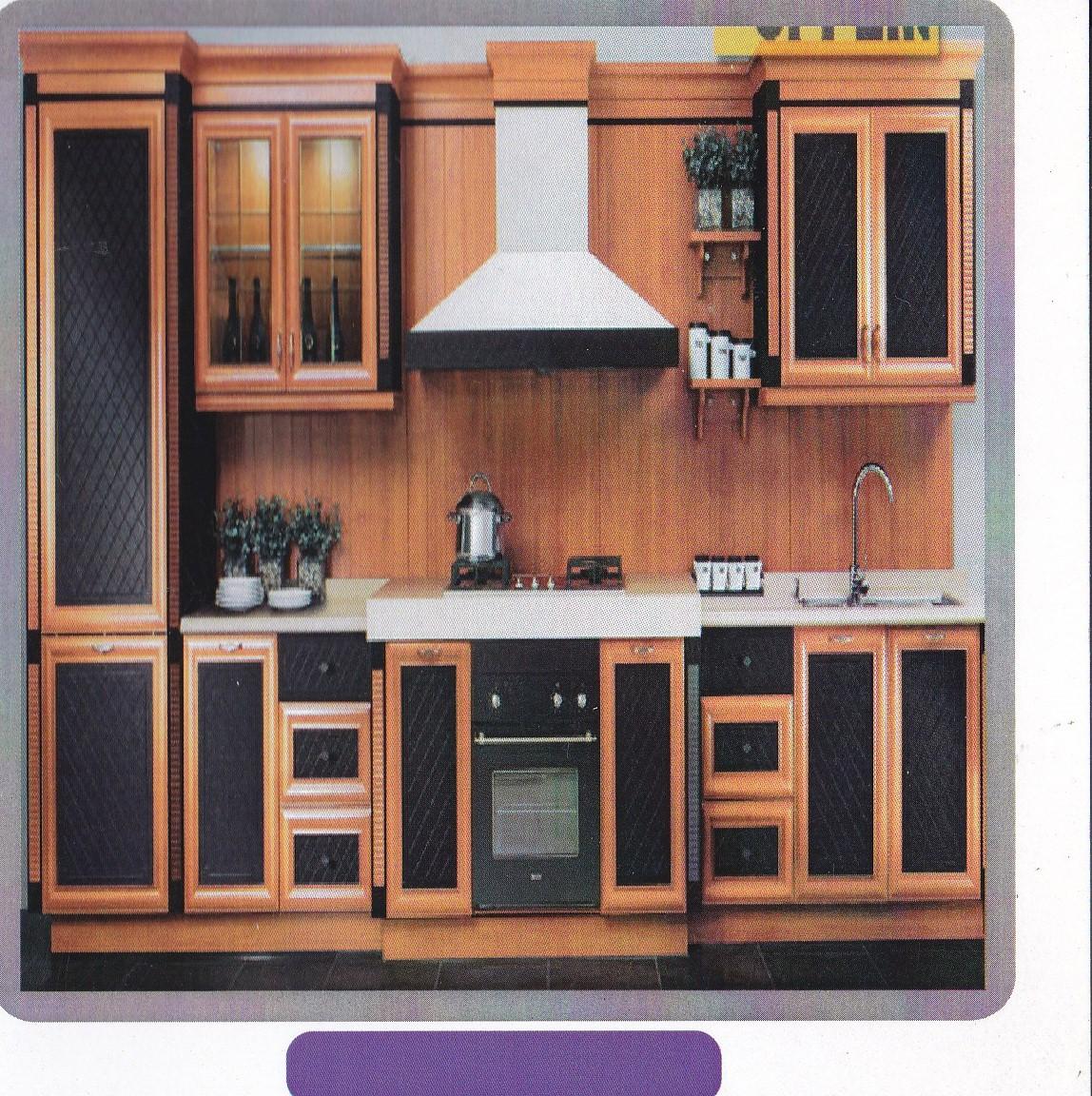 Aplikasi kayu dalam konsep hunian modern aneka jati prima for Kitchen set yang bisa dipindah