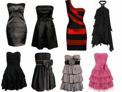 Vestidos Femininos Curtos e clássicos para festas