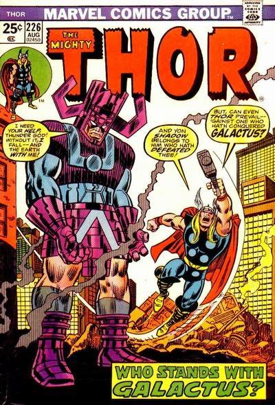 Thor #226, Galactus