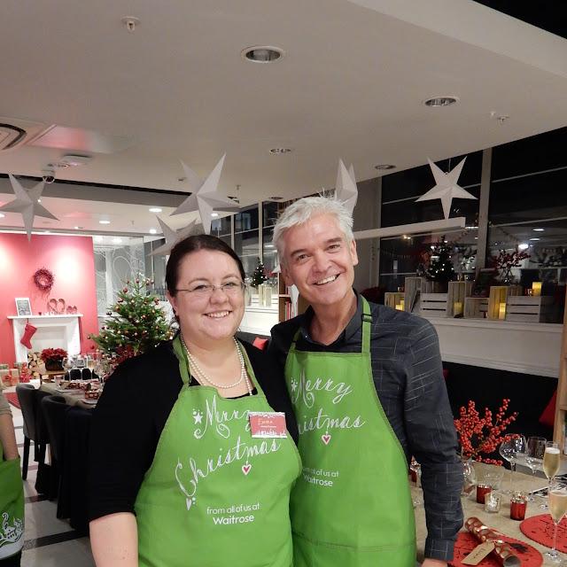 Philip Schofield Waitrose #makeschristmas