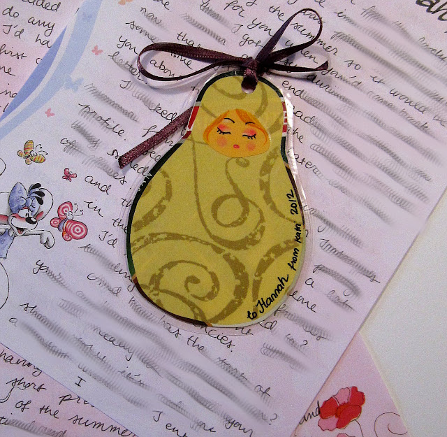 matryoshka bookmark