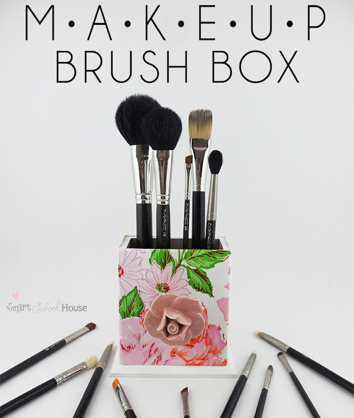 Makeup Brush Box Storage