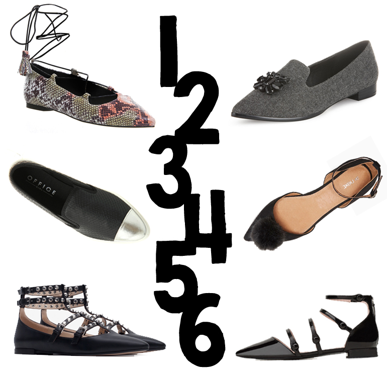 FANCY FLATS - AW15 the best flat shoes