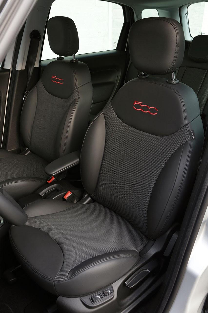 2014 Fiat 500L Beats Edition™ seats