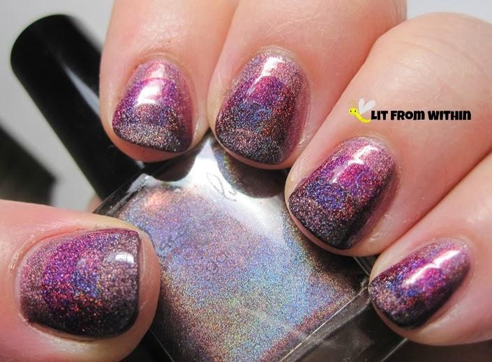 A phobe manicure lusts over ruffian nails rare photo