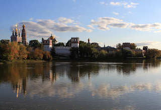 Novodevichy Reflection Pool Moscow