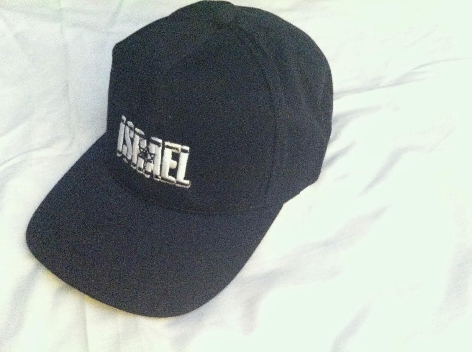 Gorra negra Israel Maguen