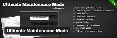 Number 6 at  20 WordPress Maintenance Mode or Under Construction Plugins That You Cant Resist