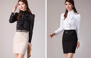 model baju kerja wanita