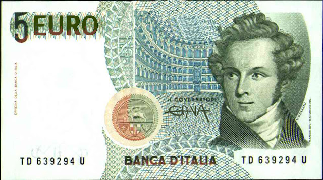 gava gavavenezia vignette satira illustrazioni infanzia cartoons fumetti caricature ridere pensare piangere 5 euro banconota nuovo euro europa