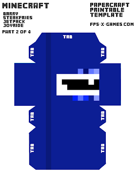 Barry Steakfries Minecraft Character