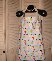 Apples and Pears Hideaway Nursing Cover