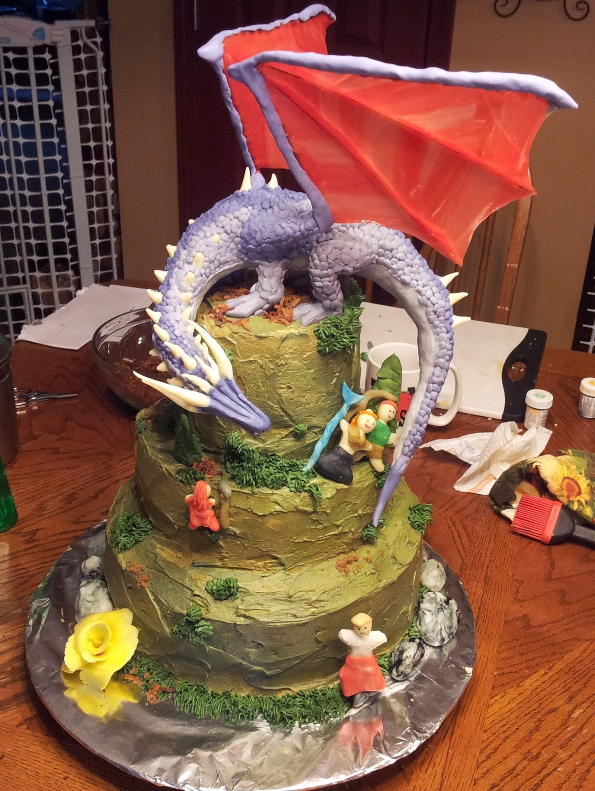 Dwarf Rock Cake