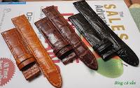 dây đồng hồ da cá sấu 51