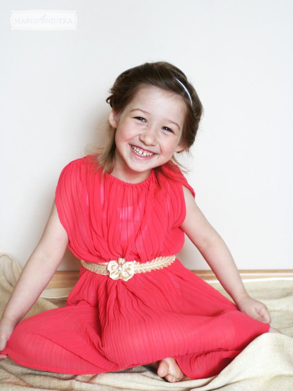 Сшить платье маленькой дочке